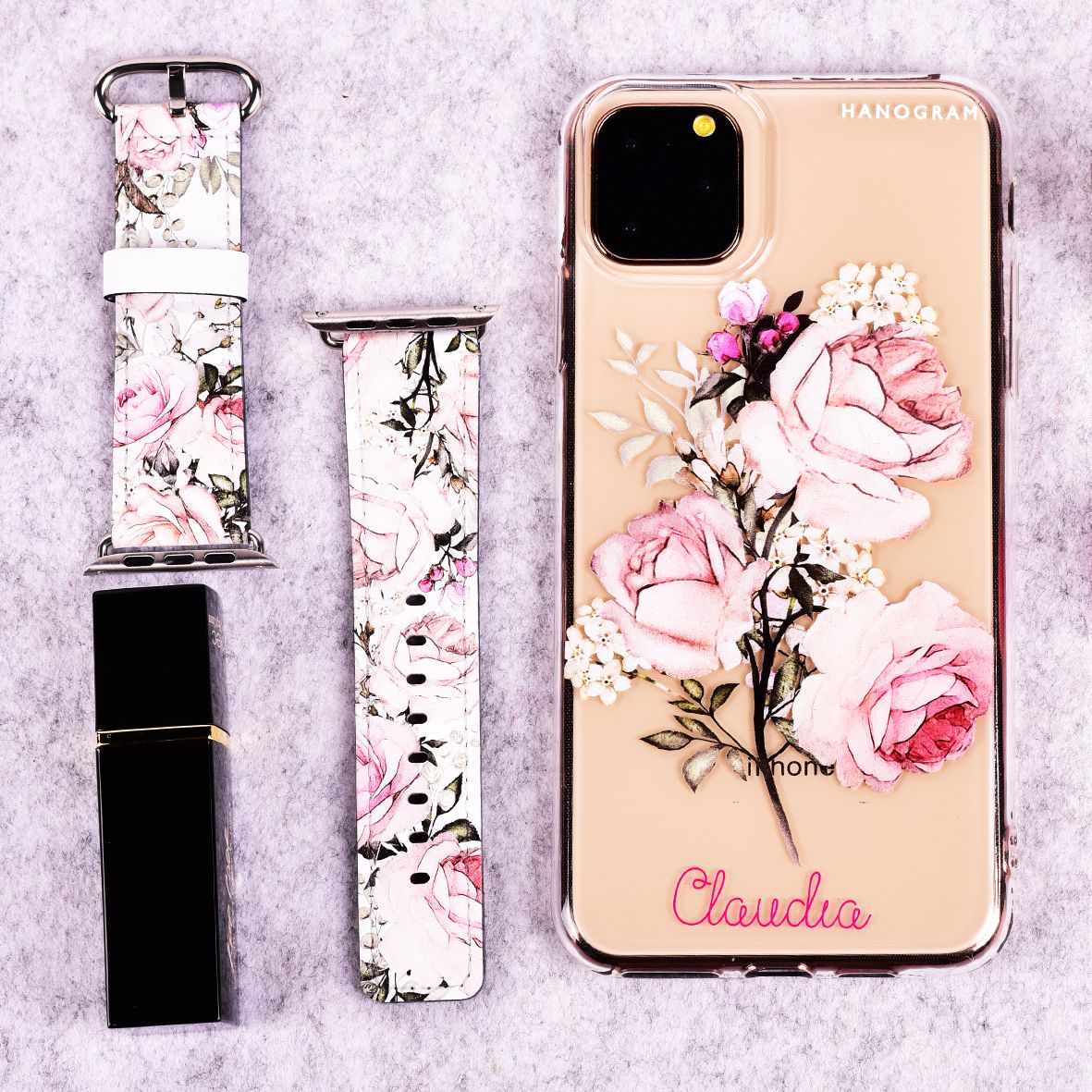 Elegant rose ii iphone 11 pro max frosted bumper case in