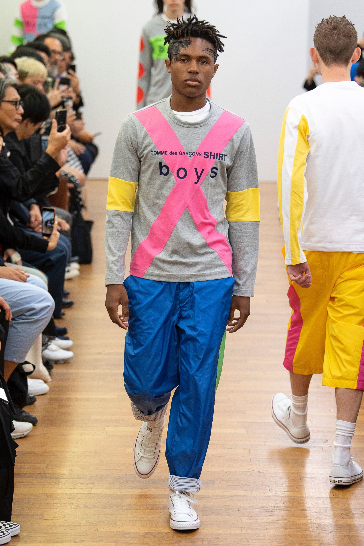 Comme des Garçons Shirt Spring  Menswear Fashion Show Collection