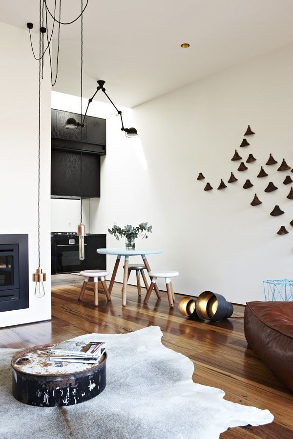 Ultra cool house in Hardison Street | Designhunter - architecture & design  blog  Apartment InteriorDesign ...