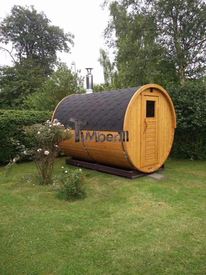 Udendørs Sauna I Træ Til Haven Martin Høgsholt Præstø Danmark 3