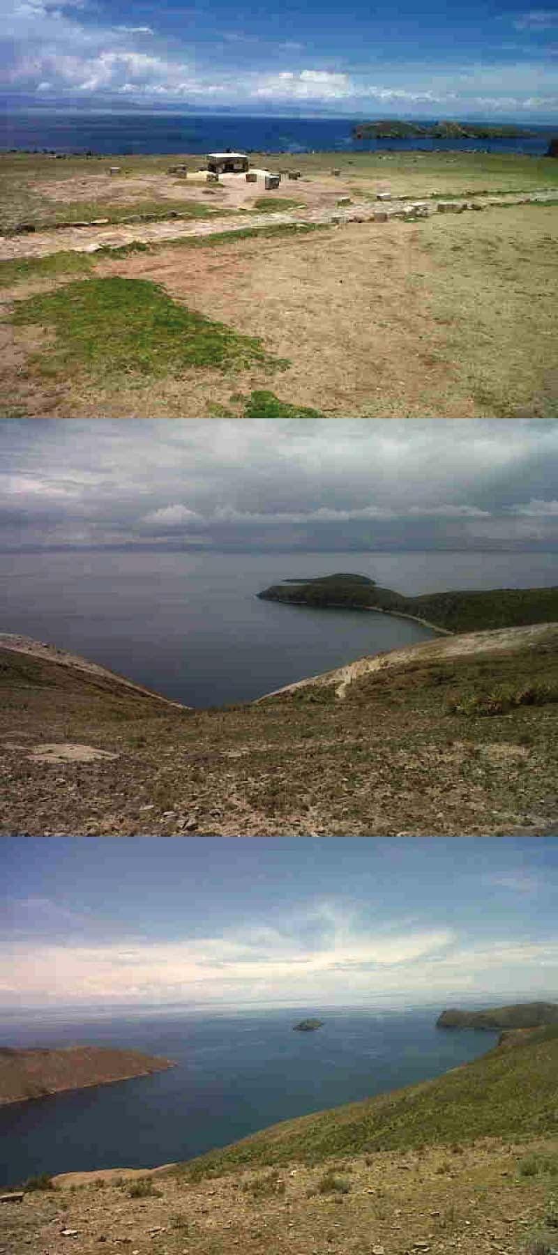 Aquí la belleza de las Islas del Sol y de la Luna en Copacabana, Bolivia.  http://www.placeok.com/la-isla-del-sol-en-copacabana-aventura-y-misticismo/
