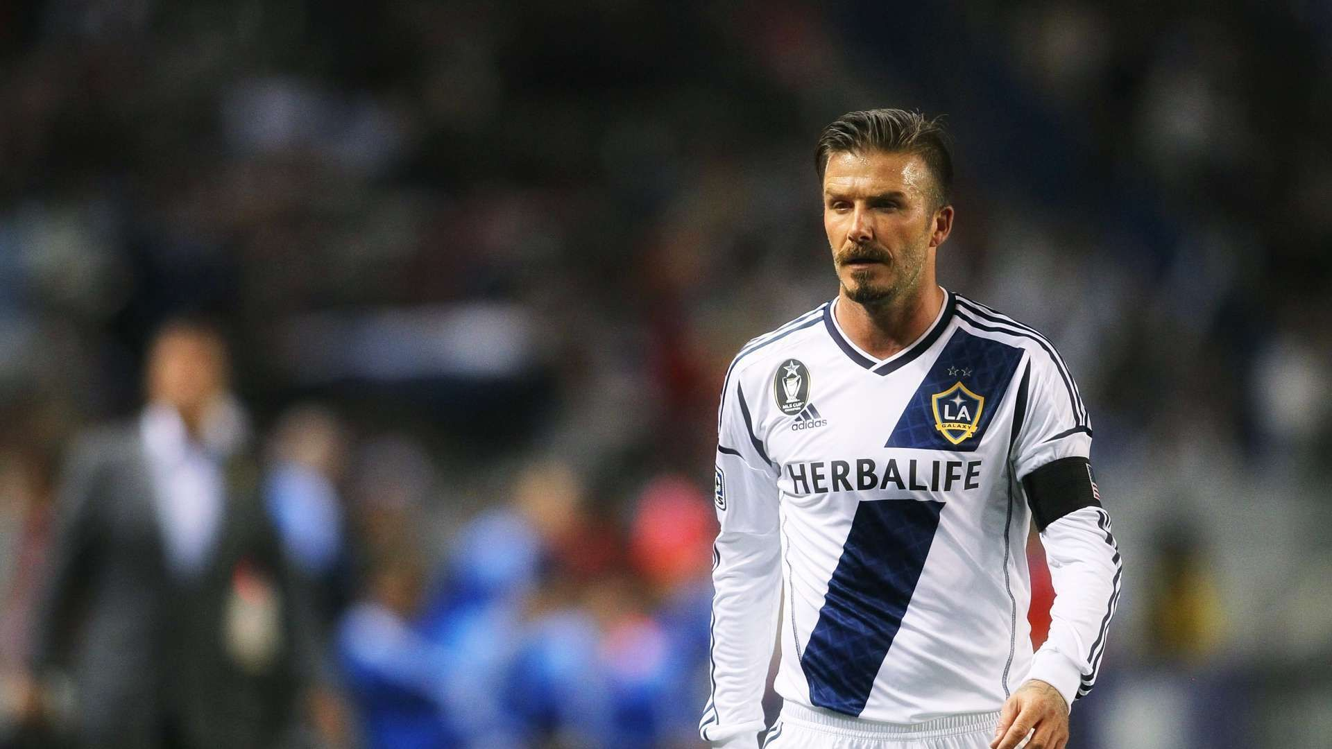 David Beckham Los Angeles Galaxy Midfielder Football Hd