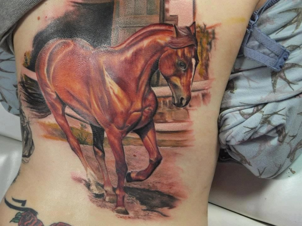 Horse Tattoo Ideas | The 37 Best Horse Tattoos For Equestrians