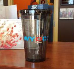 #promotionalproducts #promos #promoproducts #promotionaliteams #tradeshows #tradeshowswag #SignaramaColorado #Signs #colorado Promotional Tumblers for WYOCO Erosion Services