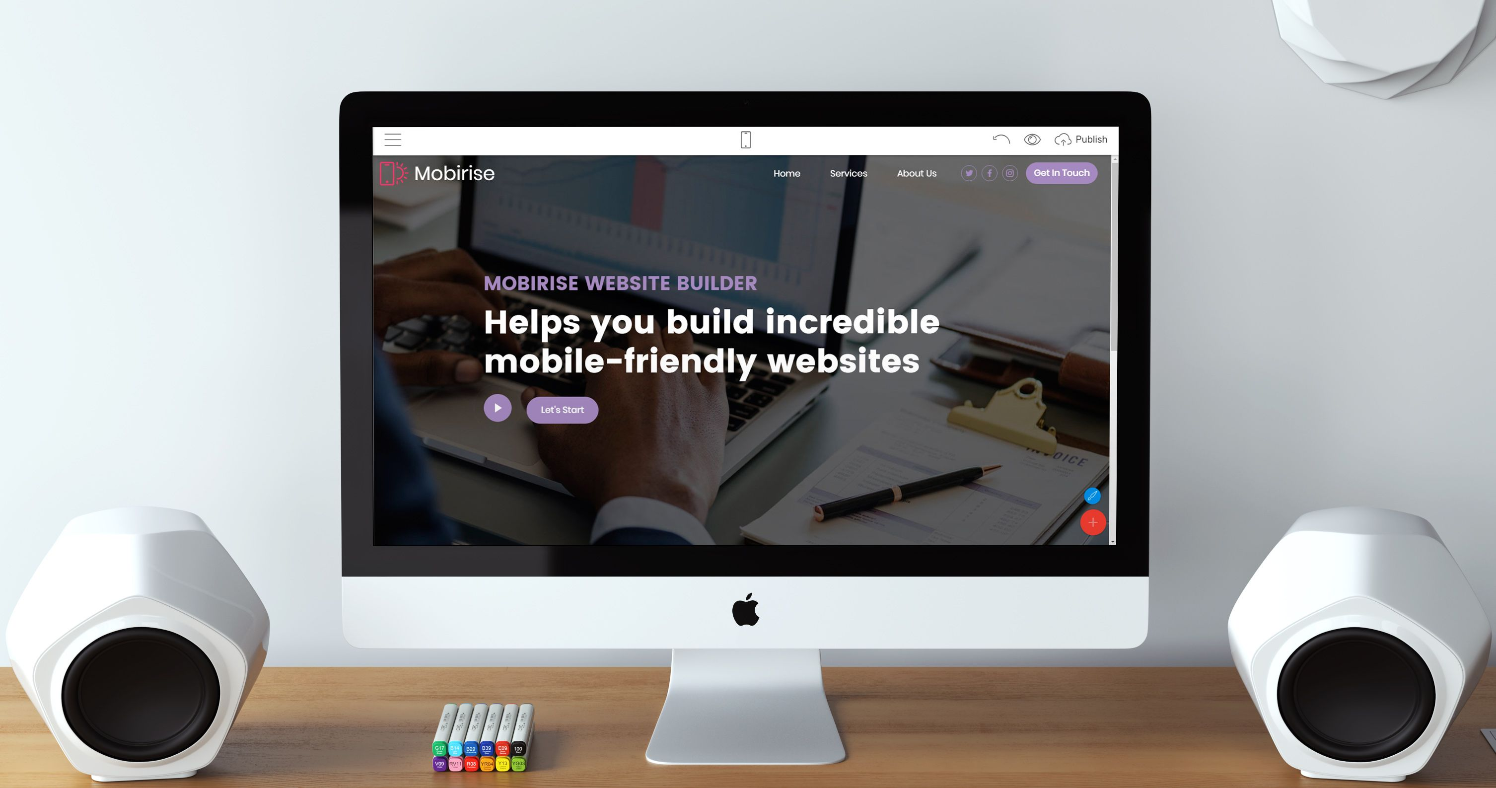 Mobirise HTML5 Website Creator 4.6.6 is out!  What's new: * Bug fixes for projects loading * AMP themes support improved * Image optimization improved * New app languages: French, Slovenian, Polish, Hungarian, Croatian
