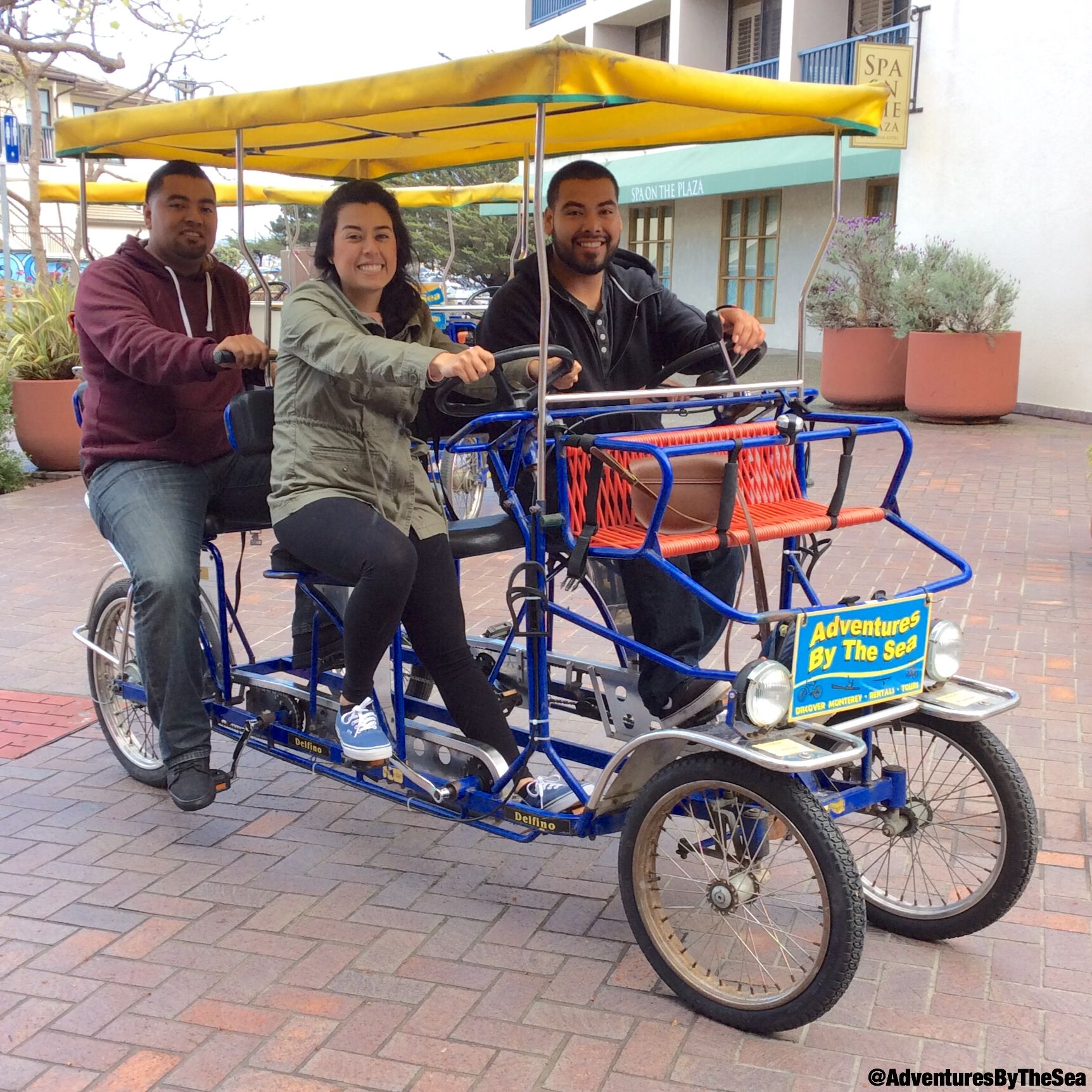 You Can Rent A Surrey And Cruise The Scenic Monterey Bike Trail