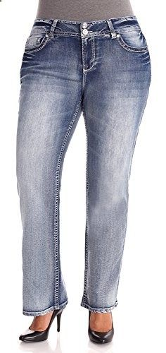 a0b90758fcbb1 WallFlower Plus Size Juniors Luscious Curvy Bootcut Jeans in Sky Size  18  Go to the website to read more description.