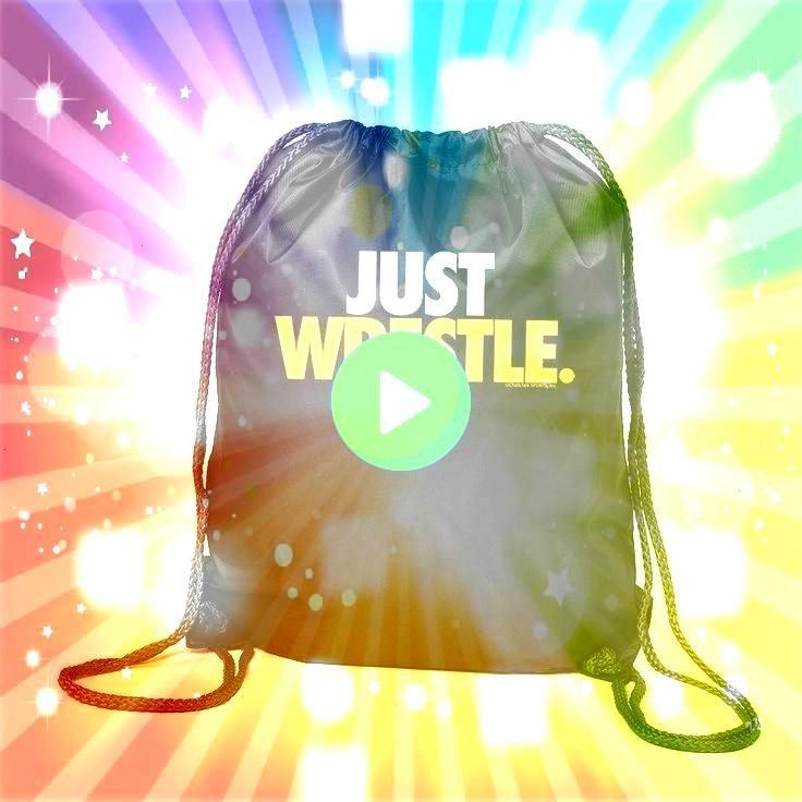 Backpack  Just Wrestle Black Cinch Sack Sport Pack  Wrestling Gift I Wrestling Drawstring Backpack  Just Wrestle Black Cinch Sack Sport Pack  Wrestling Gift Ideas  Wrestl...