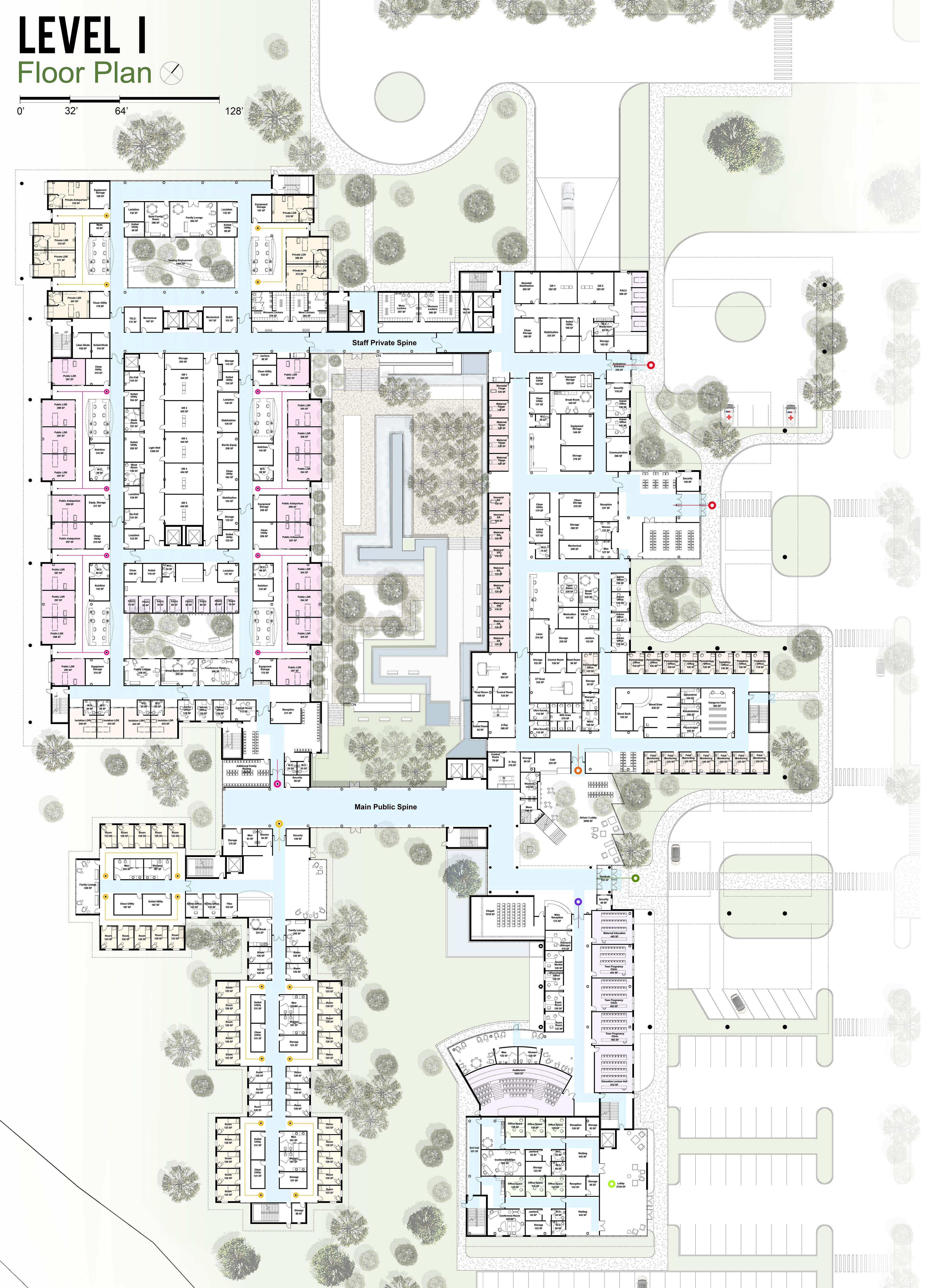 Level 1 architecture floor plan hospital honduras little angelsg level 1 architecture floor plan hospital honduras little angelsg pinterest hospital design and arch malvernweather Image collections