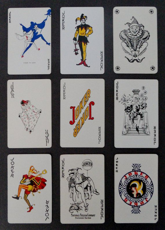 Unavailable Listing On Etsy Joker Playing Card Custom Playing Cards Cards