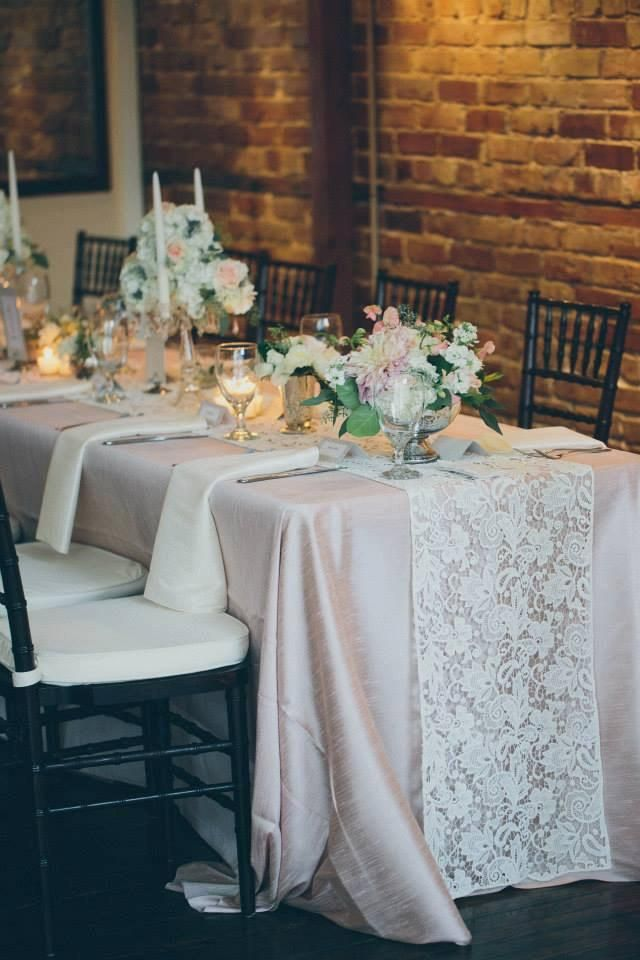 undefeated x first rate best authentic White Lace Table Runner in 2019 | Wedding table decorations ...