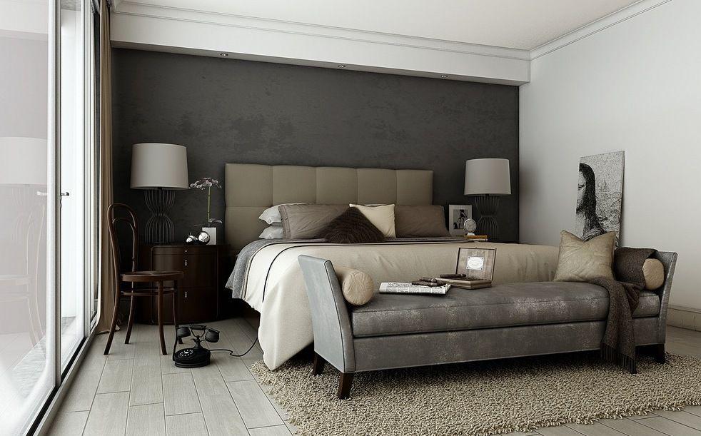 schlafzimmer grau mit wandfarbe grautöne | home | pinterest ... - Modernes Schlafzimmer Grau