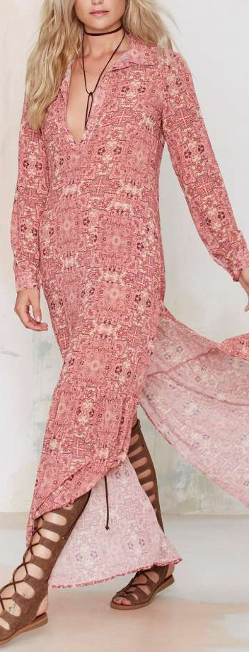 genera maxi dress