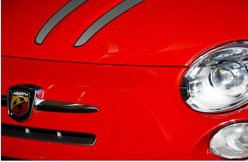 Fiat Abarth 695 Tributo Ferrari Zipper Pouch Fiat Abarth