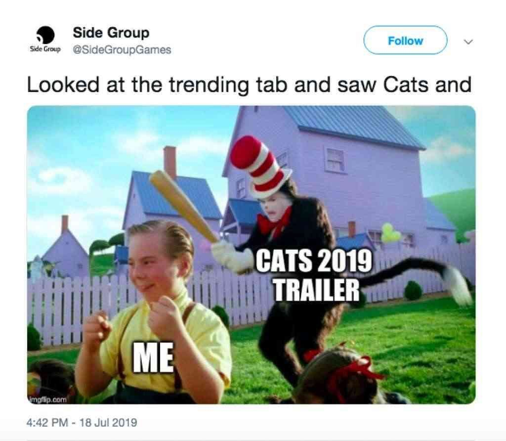 21 Hilarious Cats Trailer Memes catsmovie catstrailer