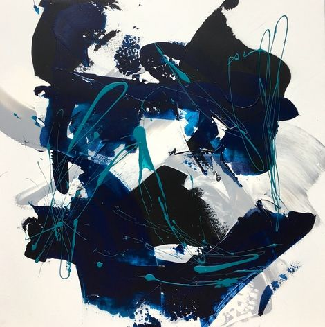 Céline Weber, Acrylique 100X100 on ArtStack #celine-weber #art