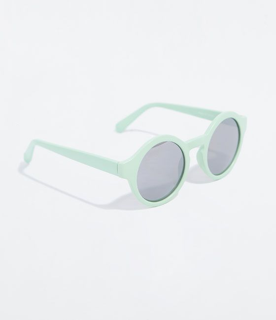 Image 2 of RUBBERIZED EFFECT SUNGLASSES from Zara