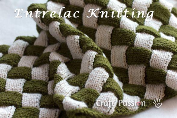 Entrelac Pattern Free Knit Tutorial Patterns Tutorials And Crochet