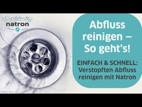 Deo Stick Selber Machen Mit Natron Und Kokosol Fur 44 Cent Youtube Mit Bildern Verstopfte Abflusse Reinigen Abfluss