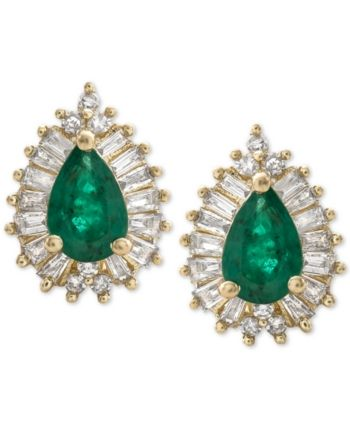12++ Macys jewelry emerald earrings viral