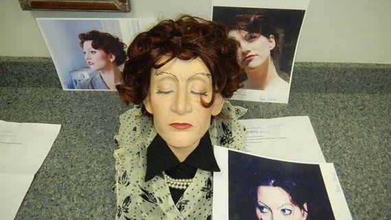 Creepy Mortuary School Project Realistic Head, Amanda Palmer by - mortician job description