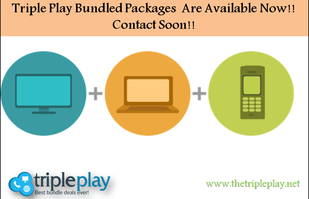 Looking to get triple play bundle packages? Just click on