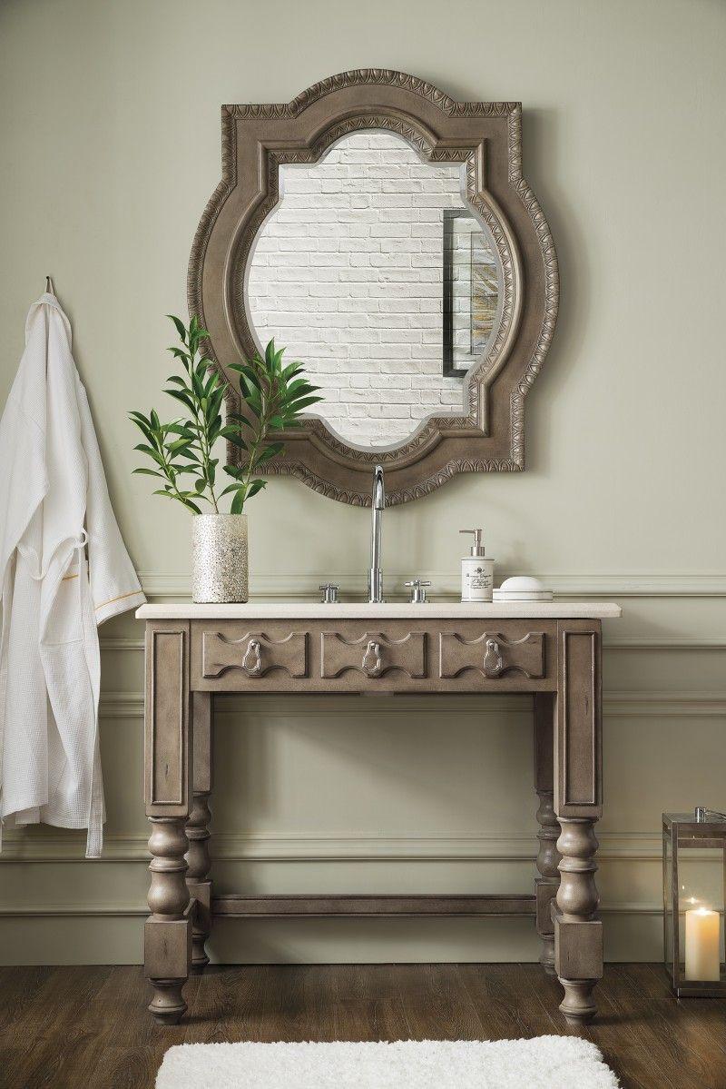 40 Inch Bathroom Vanity Empire Gray Finish Galala Beige Marble Top Inspiration 40 Inch Bathroom Vanity Decorating Inspiration