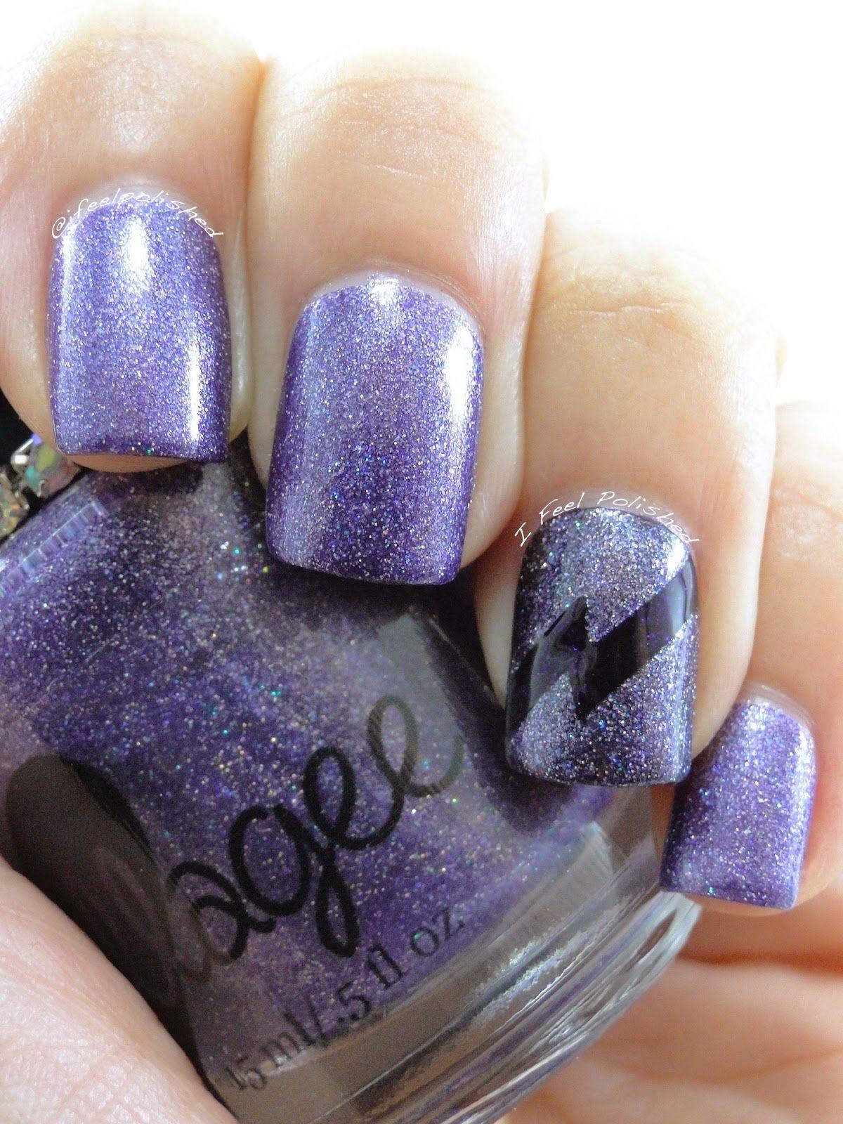 I Feel Polished!: Purple Lightning