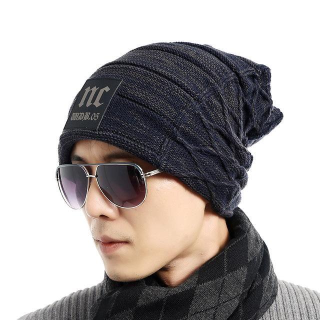 FETSBUY Brand Beanies Knit Men S Winter Hat Caps Thick Skullies Bonnet Hats  For Men Women Beanie 0eacadf950a