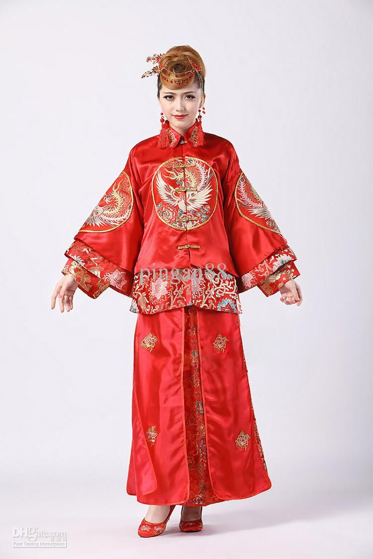 traditional chinese women clothing garb traditional