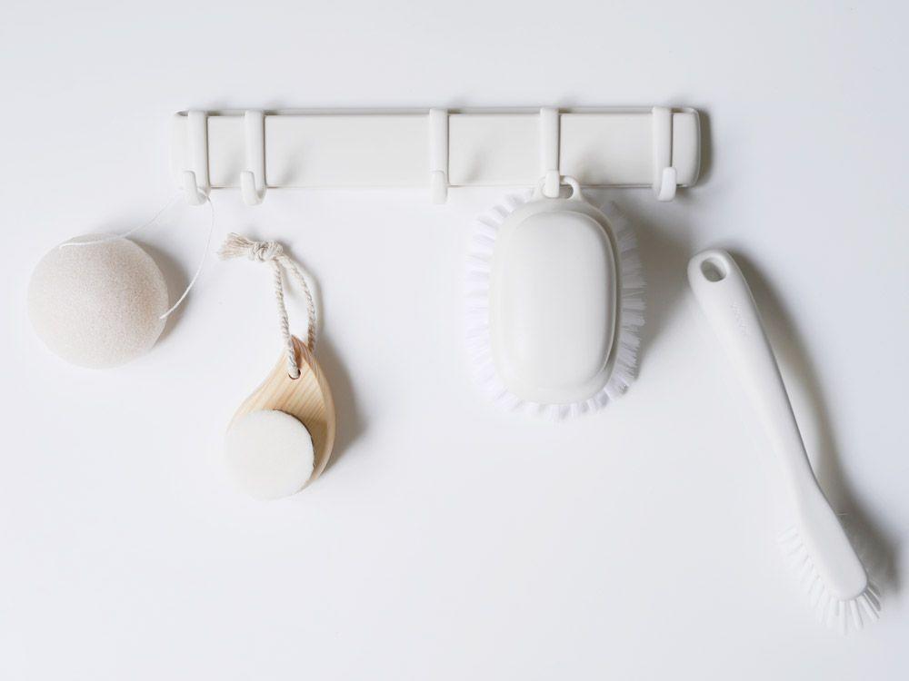 marna マグネットフック5連 フック 磁石 ホワイト 画像あり