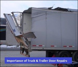Truck \u0026 Trailer Door Repairs. Many businesses depend on their truck trailer doors. Broken & Truck \u0026 Trailer Door Repairs. Many businesses depend on their ...