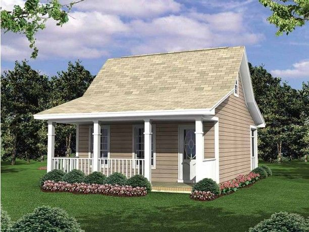 Cottage House Plan With 400 Square Feet And 1 Bedroom From Dream .