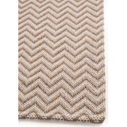 Photo of benuta Naturals Waschbarer Baumwollteppich Cooper Taupe 75×150 cm – Moderner Teppich für Wohnzimmer