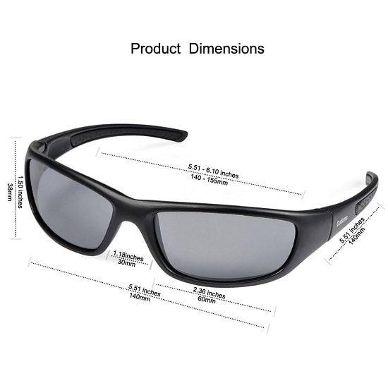 9f83a9bd39e52 Duduma Tr8116 Polarized Sports Sunglasses for Baseball Cycling Fishing Golf  Superlight Frame review