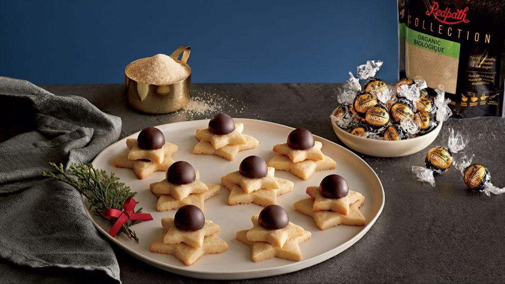Next-Level Shortbread Cookie Recipe | Lindt The Season #truffesauchocolat