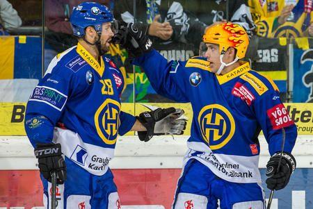 Hockey Club Davos - 1. Viertelfinalspiel: HCD-Kloten 4:1 - Yeah!!!