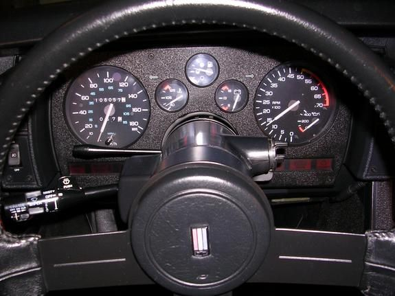 1987 z28 stock gauge cluster canadian camaro interior for Interior 88 camaro