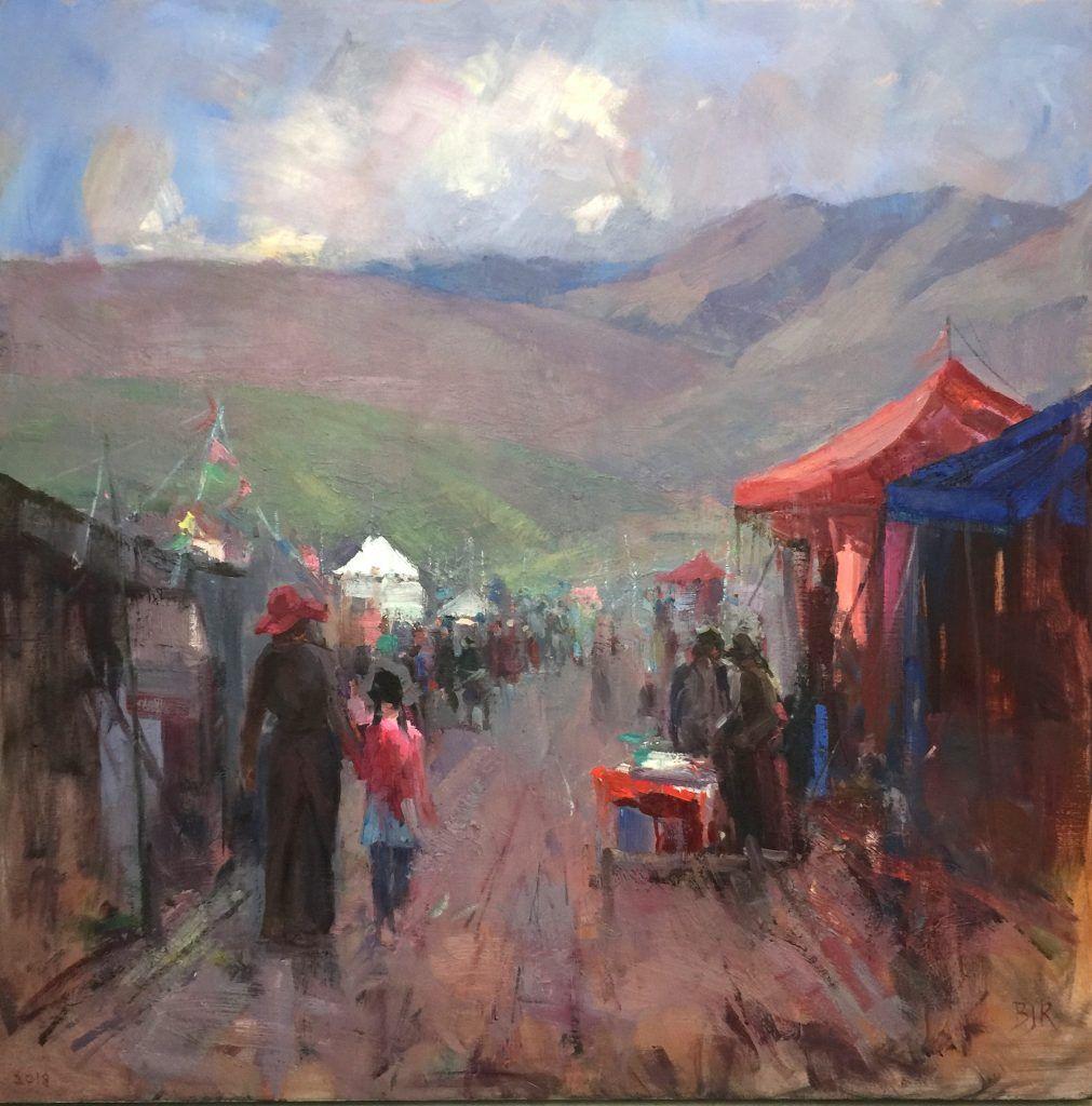 A Tibetan Festival In Qinghai Qinghai Virtual Art Art Academy