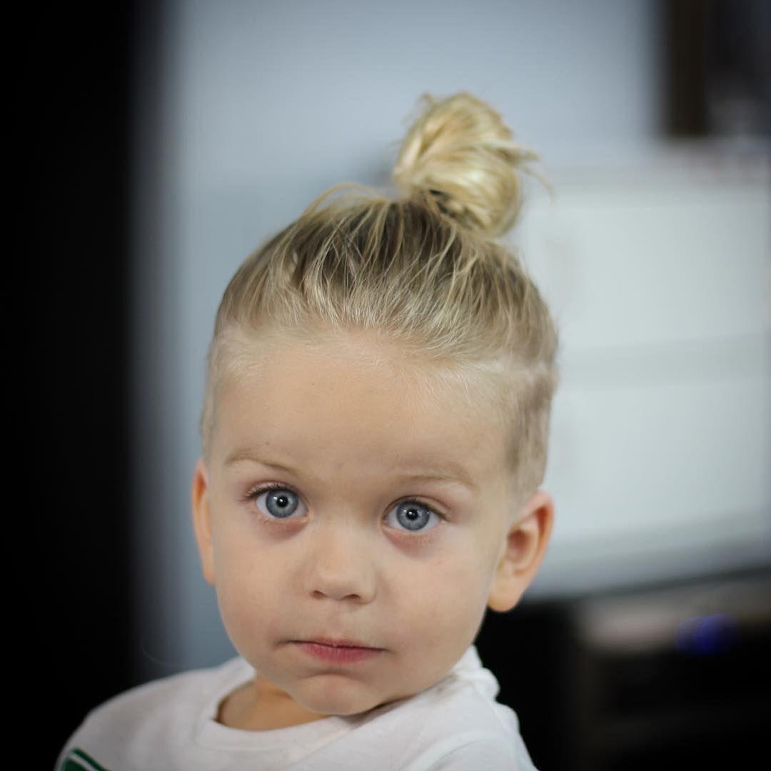 Kinder Jungen Lange Frisuren Neue Frisuren Pinterest Bun Hairstyle
