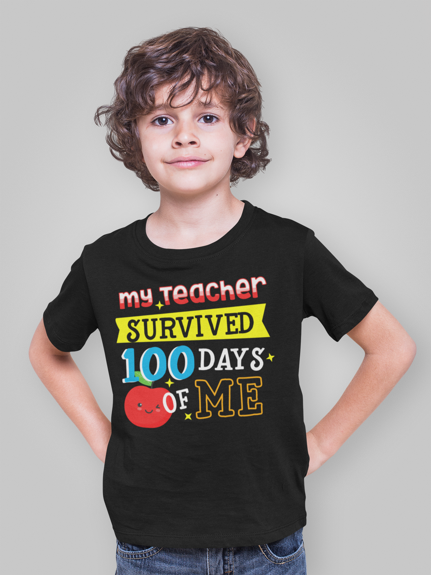 Best Ideas For Halloween Tshirts For Your Kids 2020 100th Day Of School Shirt for Boys in 2020 | Dad and son shirts