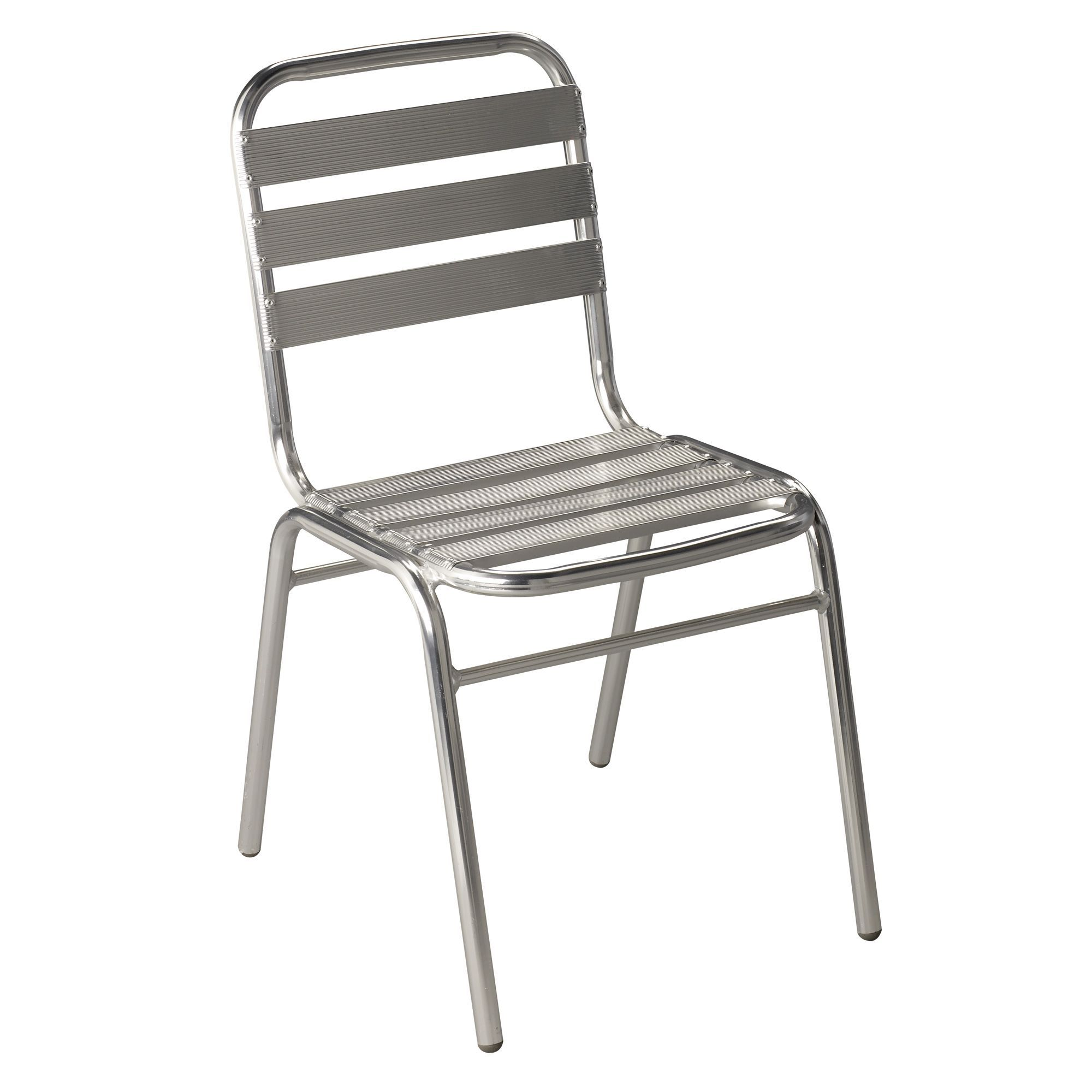 Chaise en aluminium techno chaises tables et chaises for Table chaise alinea