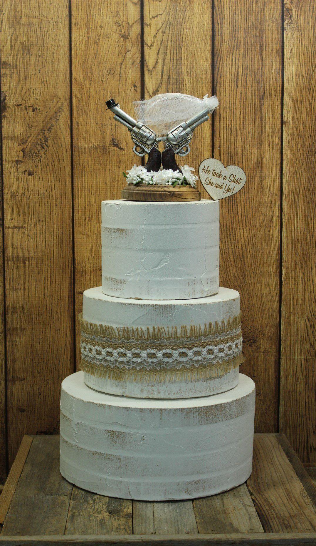 14++ Gun wedding cake toppers trends