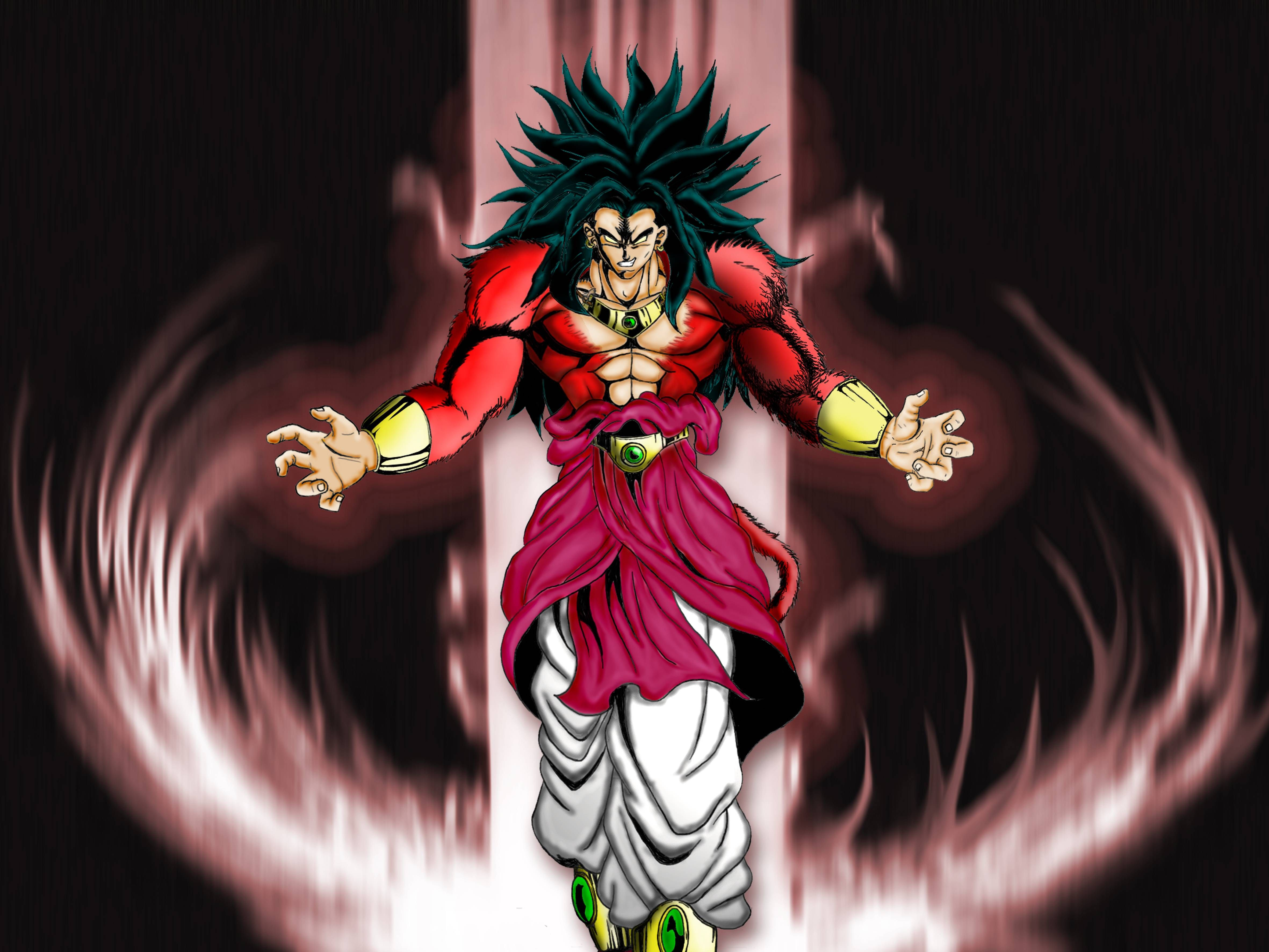 Dragon Ball Z Broly Wallpaper Picture For Free Wallpaper Cartoon