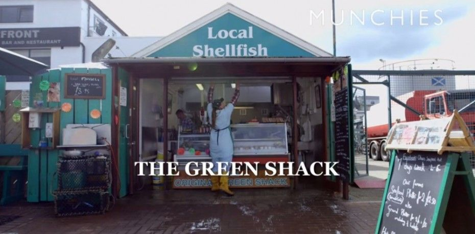 Oban, known as the seafood capital of Scotland - The Green shack where the locals eat