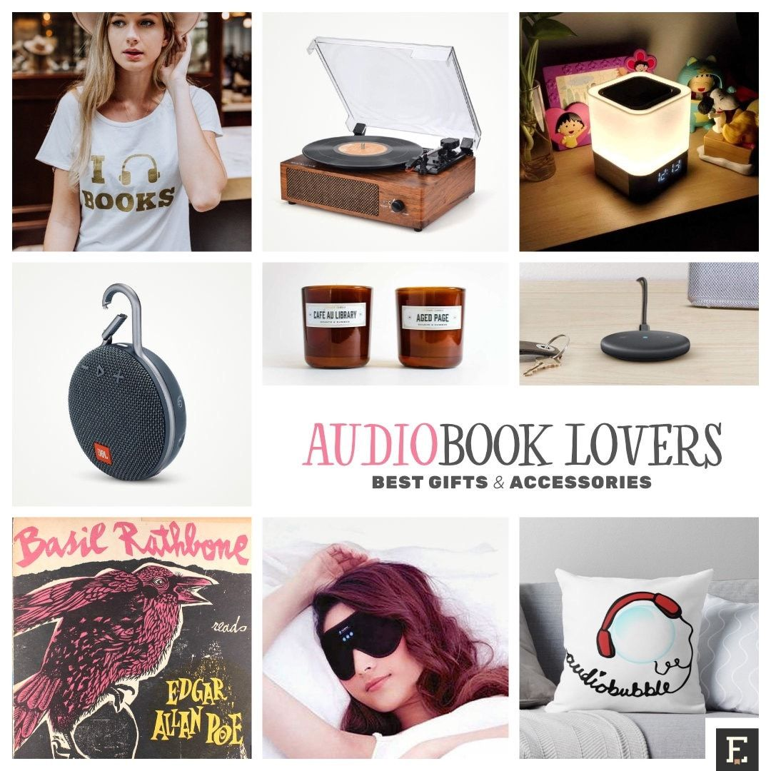 25 Gifts For Audiobook Lovers That Will Indulge All Senses Best Books To Gift Book Lovers Gifts Best Gifts
