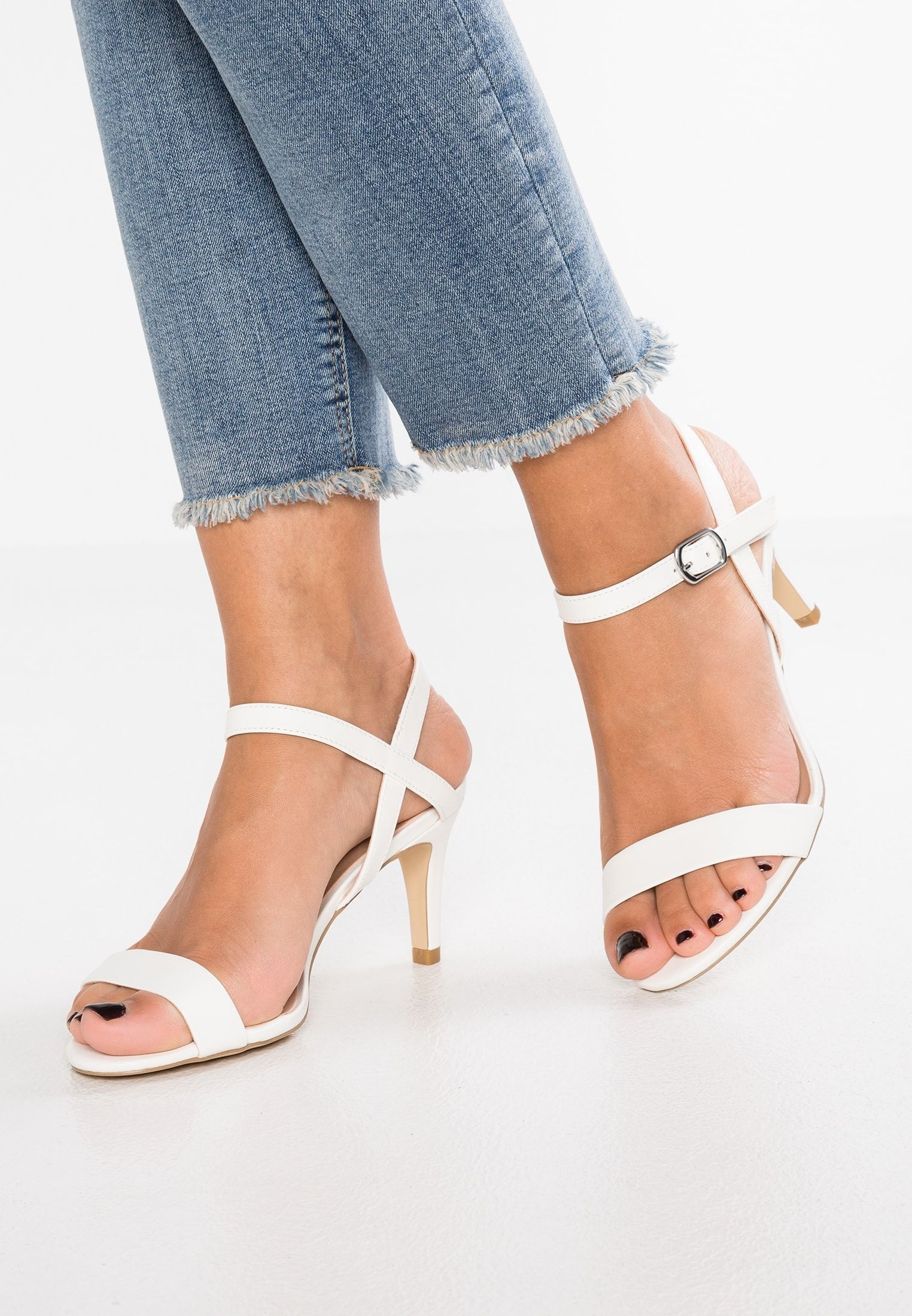 New Look Sheep Riemensandalette White Zalando De
