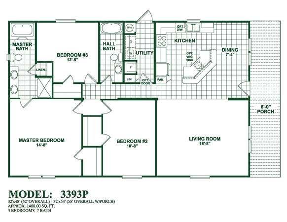 Model 3393p Oak Creek Homes Home Finder Oak Creek