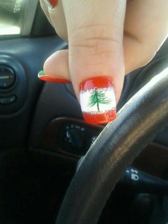 Lebanese flag ♥♡ 2012