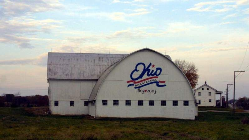 One Of Ohio S Bicentennial Barns Wayne Co Number 53 Wooster